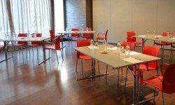 Montaje sala Hotel Ilunion Barcelona