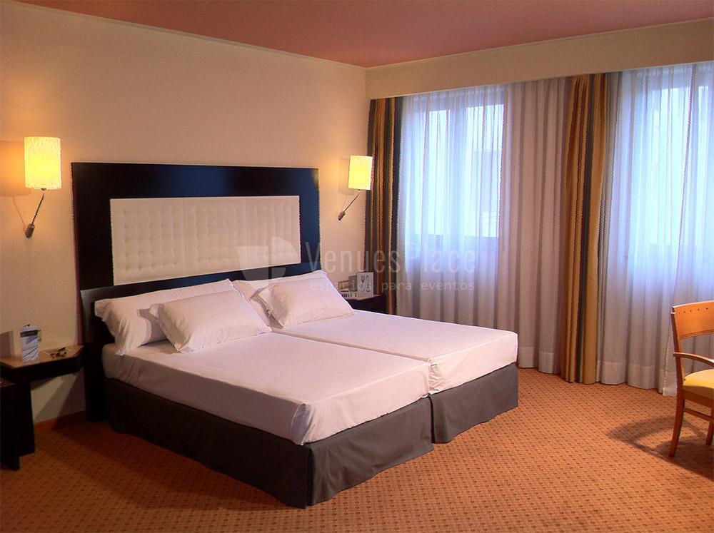 Habitación Doble en Hotel Abba Burgos