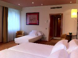 Habitación Triple en Hotel Abba Burgos