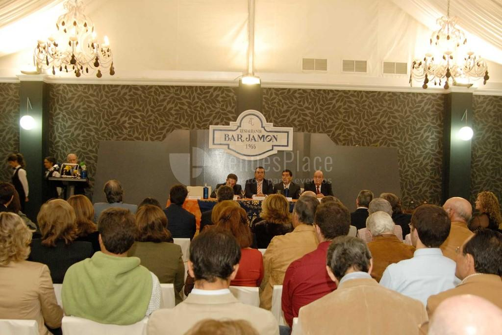 Montaje eventos de empresa en Finca Elisa - Restaurante Bar Jamón