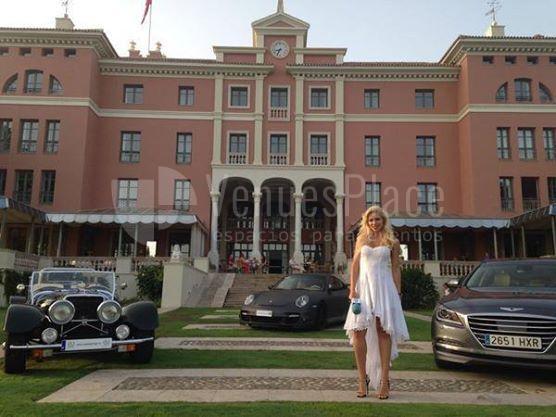 Presentaciones de coches en Villa Padierna Palace Hotel