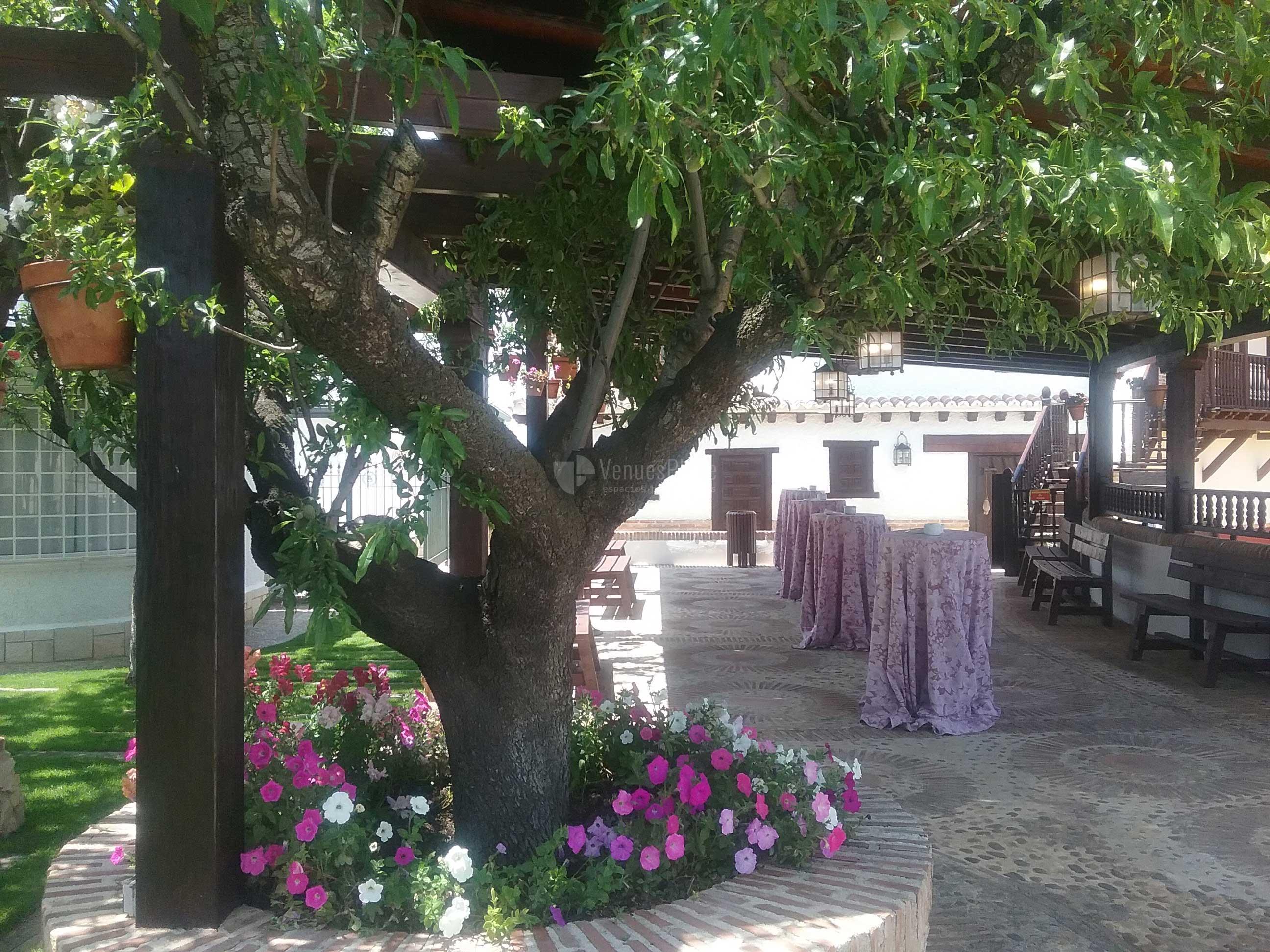 Jardines para eventos en Finca Feligrés