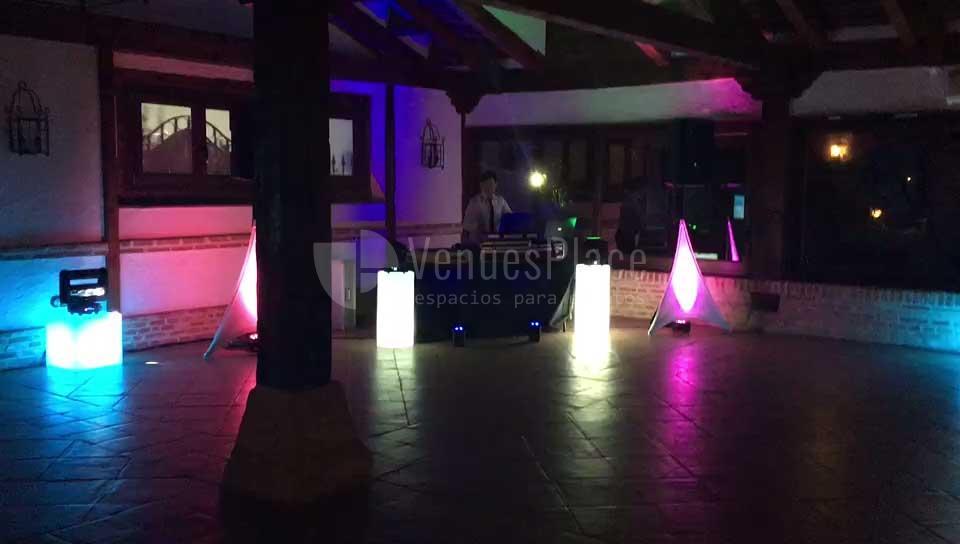 Discoteca para eventos en Finca Feligrés