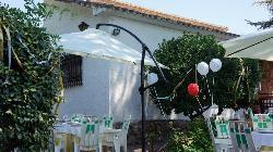 Terraza para celebrar tu evento o fiestra privada enEl Hotel Rural el Jardín