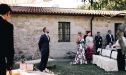 Ceremonia en Pazo La Buzaca
