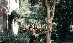 Jardín en Pazo La Buzaca