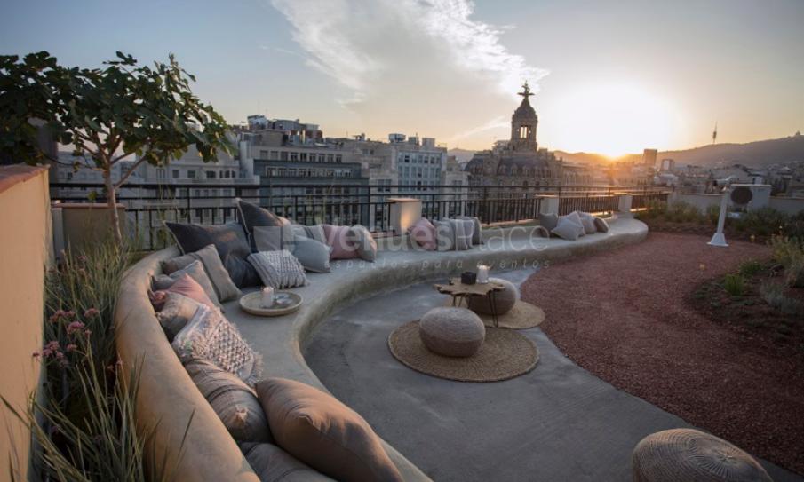 La Terraza 20 Terraza Con Vistas Increíbles En Barcelona Venuesplace