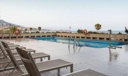 Exterior piscina Hotel Ilunion Fuengirola