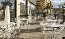 Exterior terraza Hotel Ilunion Fuengirola
