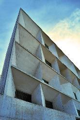 Fachada exterior del Auditorio Municipal Ciudad de León