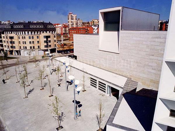 Exterior del Auditorio Municipal Ciudad de León