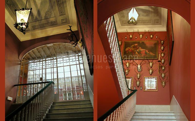 Interior Hotel Palacio Conde de la Corte