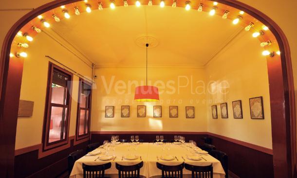 Montaje 20 en La Venta Restaurant