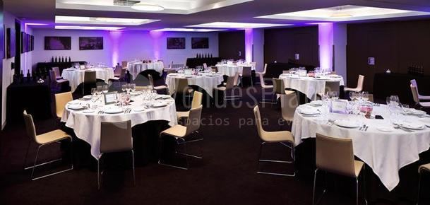 Montaje  Hotel ME Madrid Reina Victoria