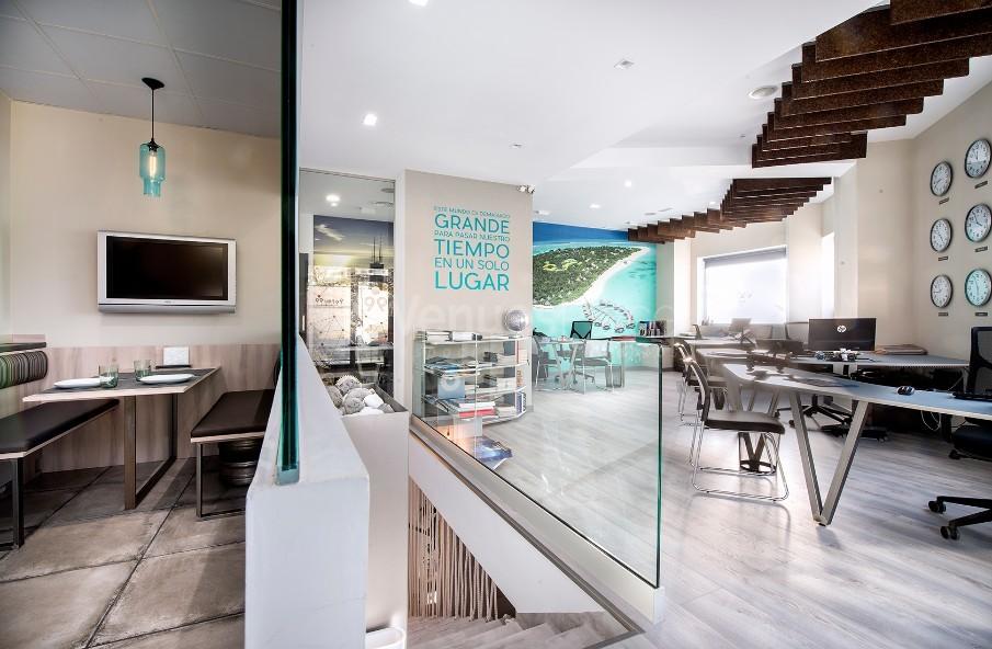 Vista de la Sala Maldivas junto al Office Sydney