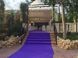Entrada a ceremonia en el interior de Las Calas