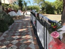 Entrada al jardín para ceremonias civiles