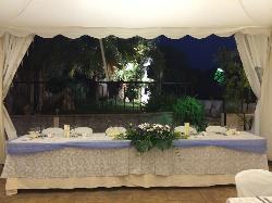 Mesa de novios en Las Calas en Hacienda Los Conejitos