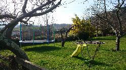 Zona juegos infantiles El Pedrueco Turismo Rural