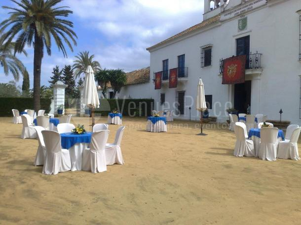 Foto patio en Hacienda San Juan El Hornillo