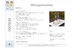 Oferta gastronómica Cóctel 4