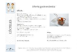 Oferta gastronómica Cóctel 1