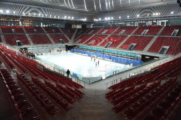 Evento de empresa y deportivos en Madrid Caja Mágica