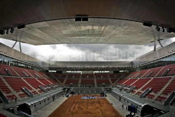 Madrid Caja Mágica eventos deportivos y de empresa