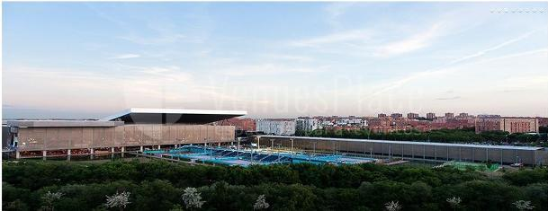 Exterior a Madrid Caja Mágica eventos deportivos y de empresa