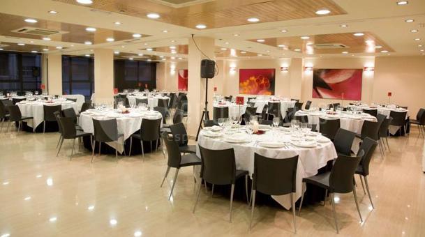 Eventos de empresa montaje en banquete en ABBA Centrum Alicante hotel****