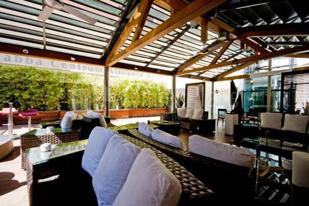 Terraza eventos diferentes en el Abba Centrum Alicante hotel****