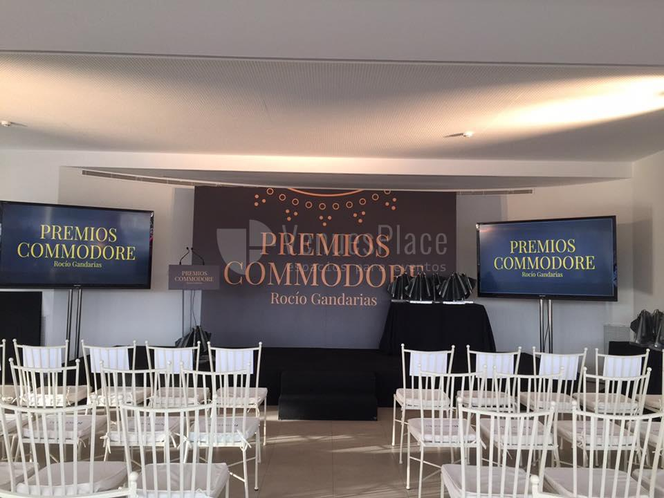 Eventos corporativos de éxito en Rocio Gandarias Commodore