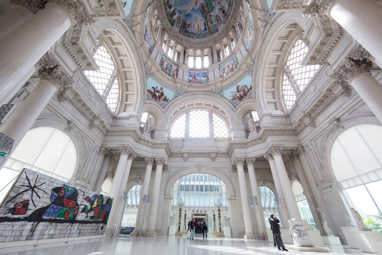Interior 1 en Museo Nacional d´Art de Catalunya