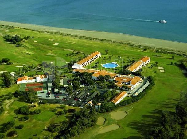 Espacios con vistas al mar en Parador de Málaga Golf