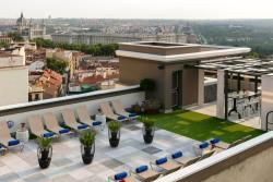 La Terraza del Hotel Emperador en Comunidad de Madrid