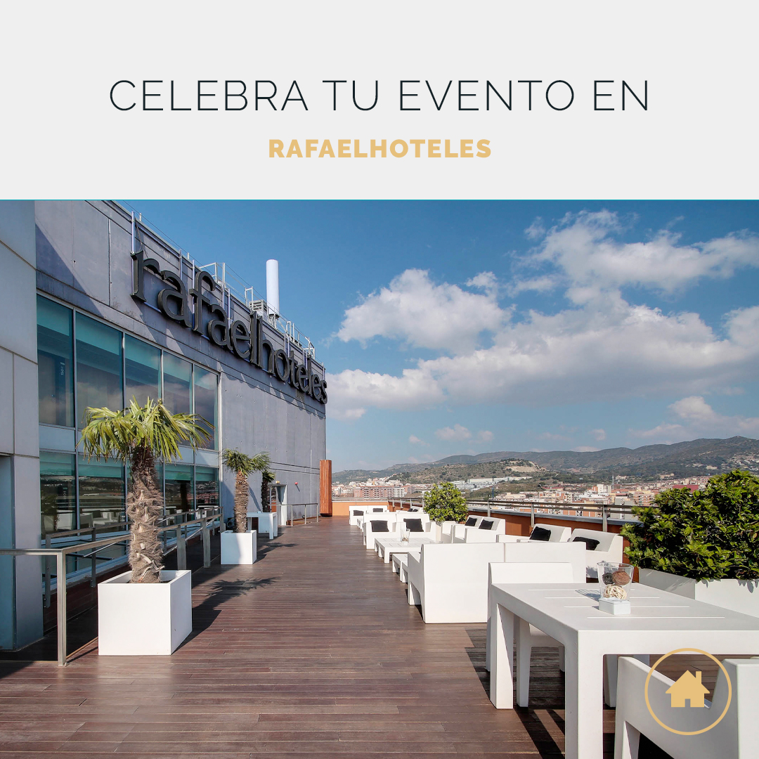 Celebra tu evento en Rafaelhoteles