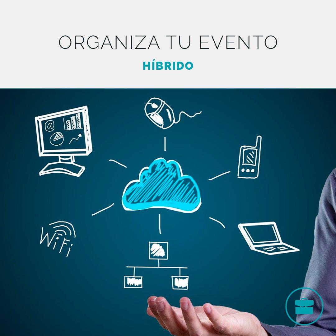 Organiza un evento híbrido y conecta con tu audiencia