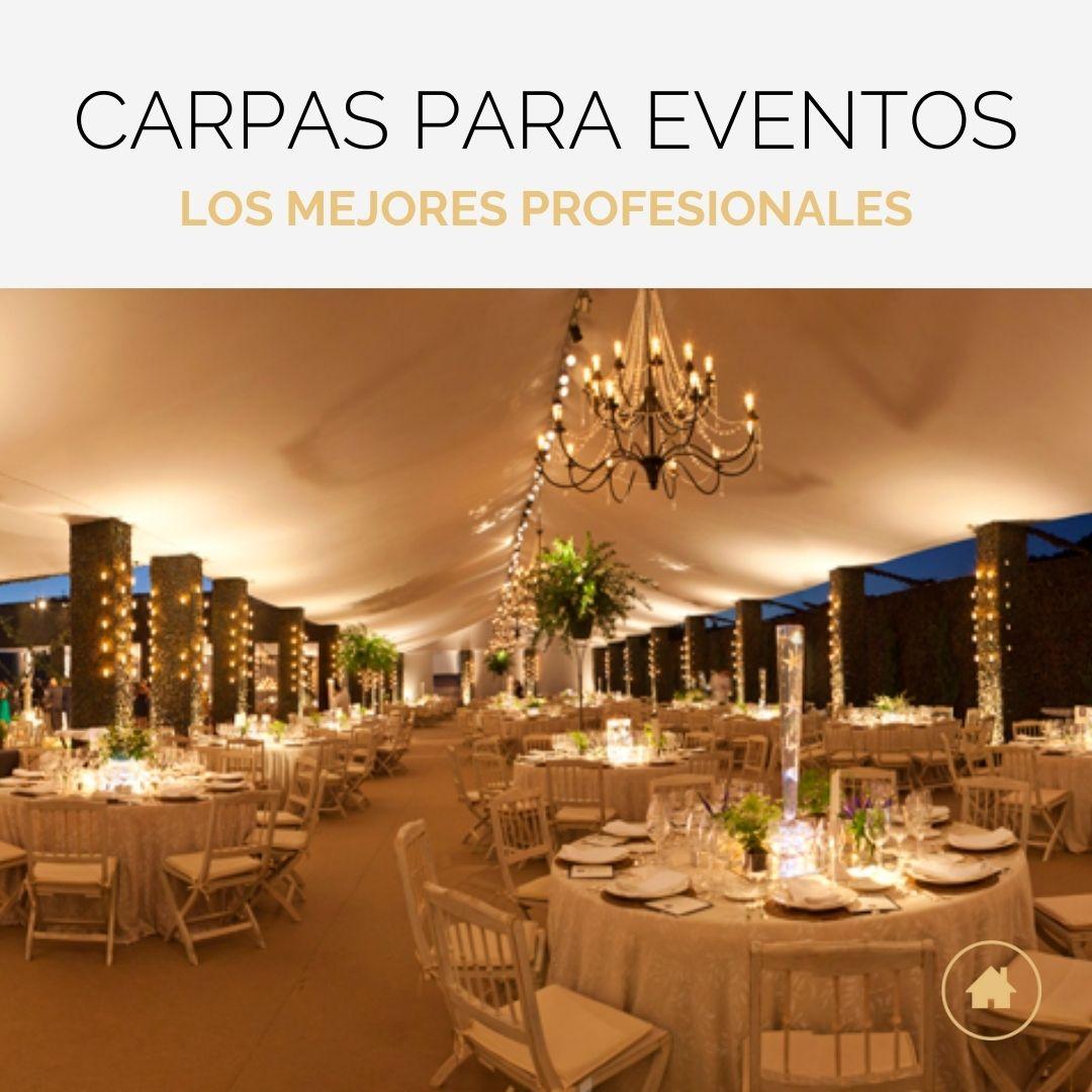 Carpas para eventos y celebraciones
