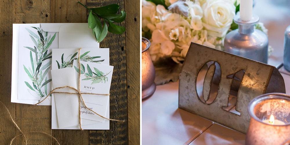 Invitaciones sostenibles boda