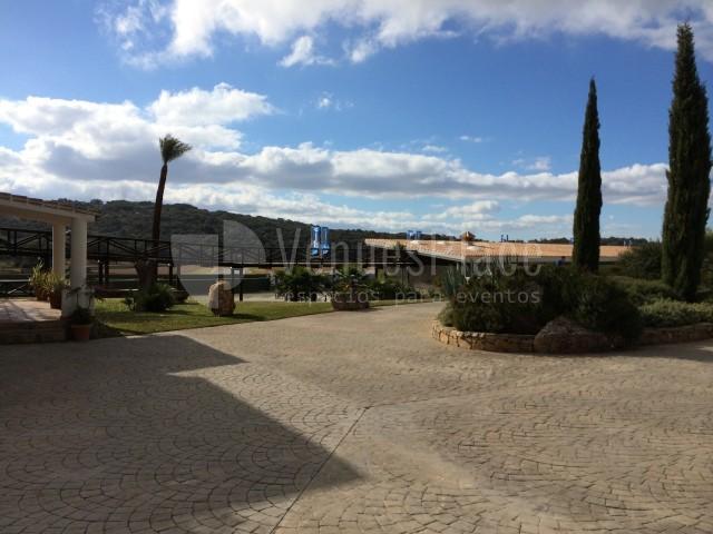 Exterior para eventos en Circuito Ascari