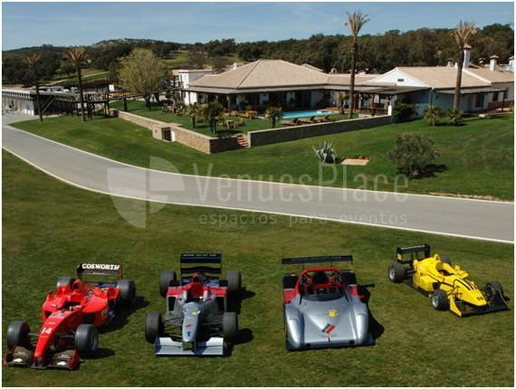 Presentación de productos en Circuito Ascari