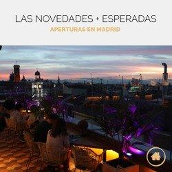 Nuevos restaurantes y espacios para eventos en Madrid