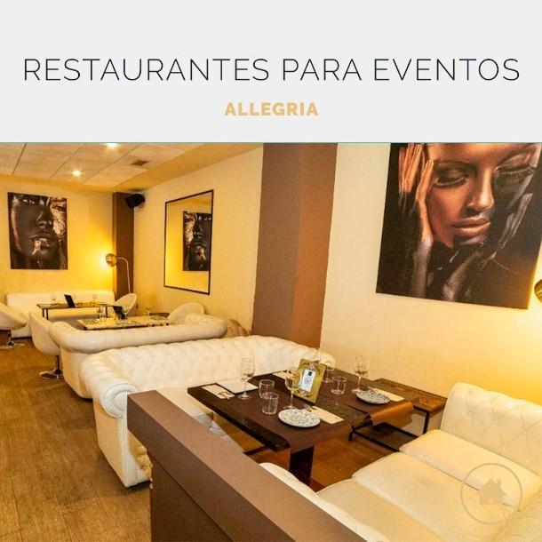 Allegria, el restaurante perfecto para tu eve