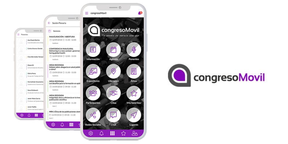 aplicación para eventos congresomovil