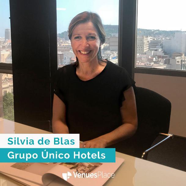 Silvia de Blas, directora de Ventas y Marketi