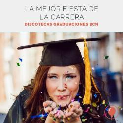Los mejores sitios para una fiesta de graduación universitaria en Barcelona