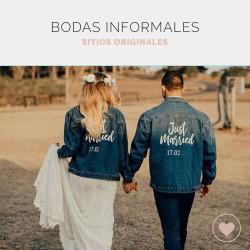 Espacios originales para bodas informales: una boda a tu manera