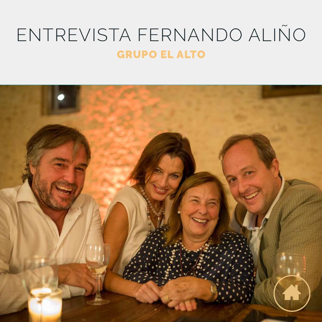 Entrevista a Fernando Aliño Alfaro, CEO Grupo El Alto
