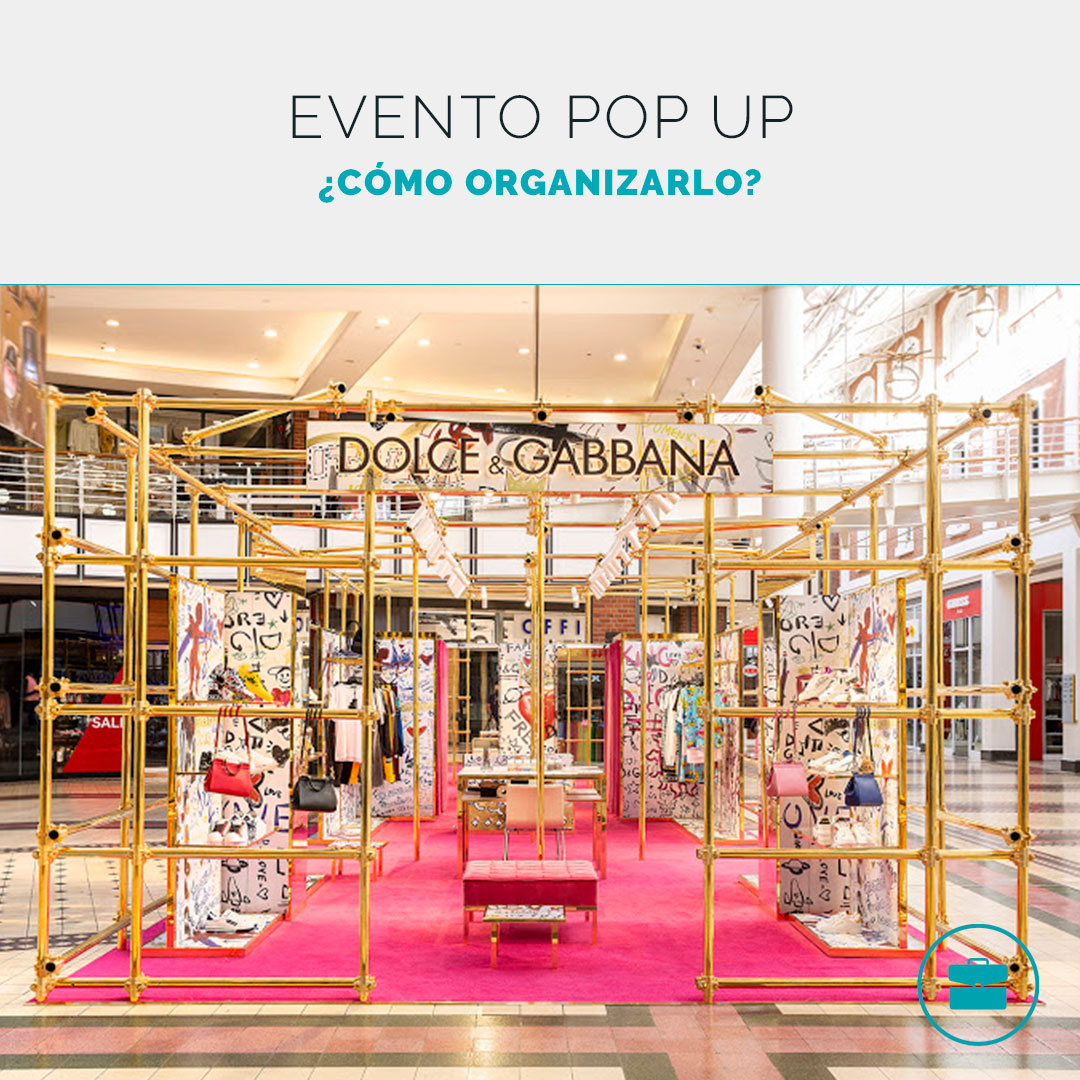 ¿Cómo organizar un evento pop up?