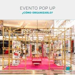 ¿Cómo organizar un evento pop up?